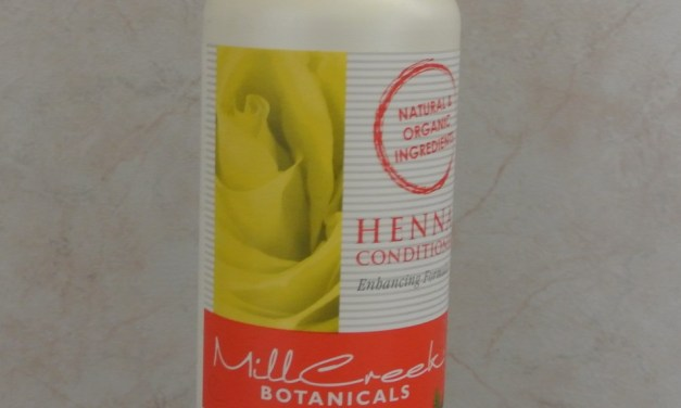 Product Review- Mill Creek Henna Conditioner