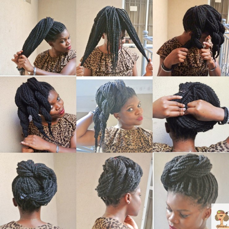 img_6558 4 Stylish ways to wear your Braids or Twists (Protective Style)