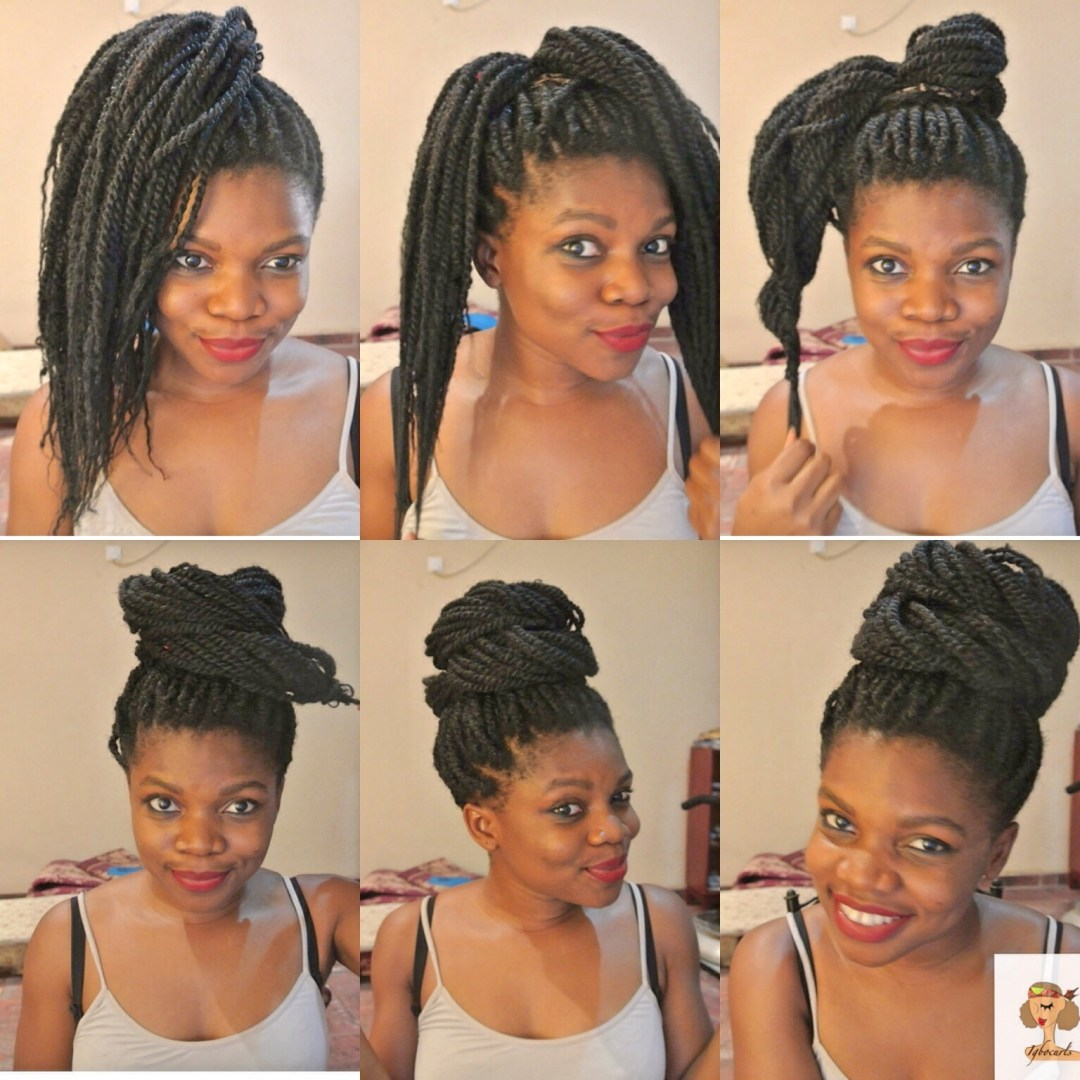 photo-6 4 Stylish ways to wear your Braids or Twists (Protective Style)