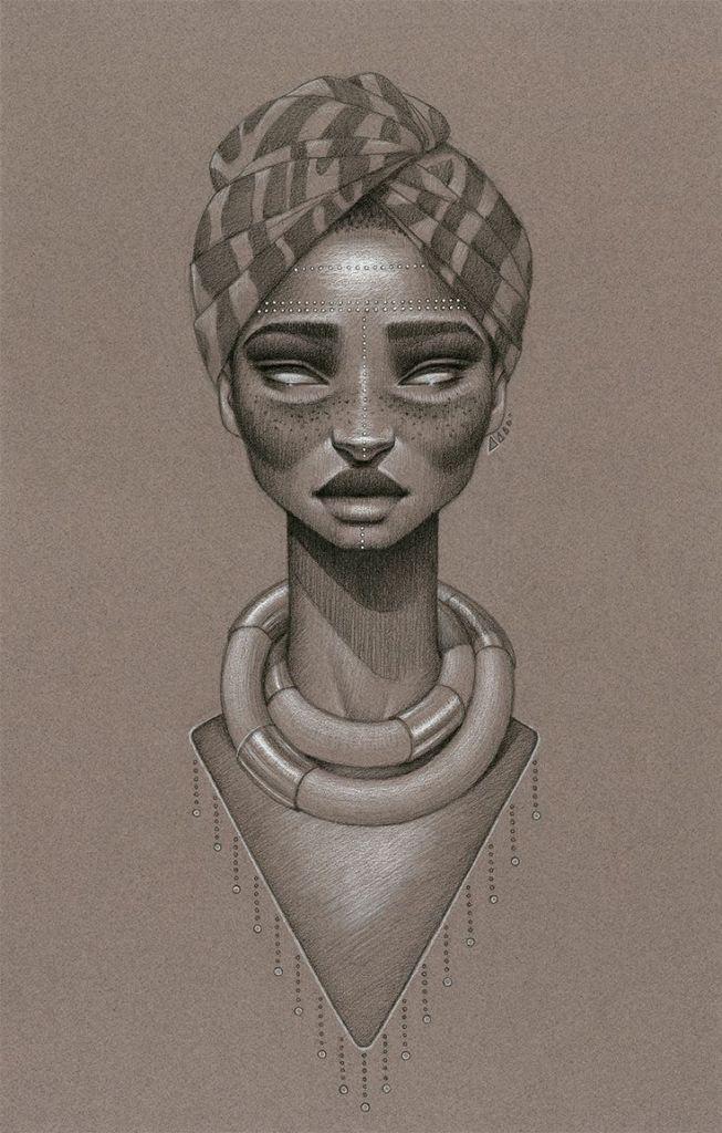 116a9cadc8ba9ea029302b30f394516a Natural Hair Art - Sara Golish