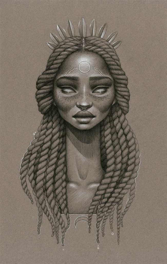 d48ca603f3bc57b61b7a20a22df1fde1 Natural Hair Art - Sara Golish