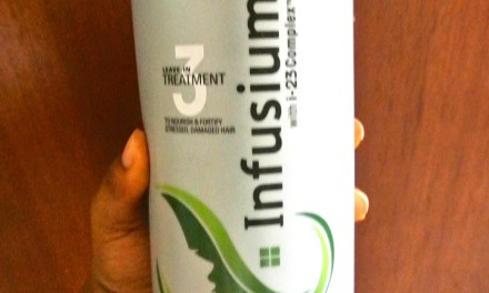 Product Review- Infusium 23 Repair & Renew (Leave-in treatment)