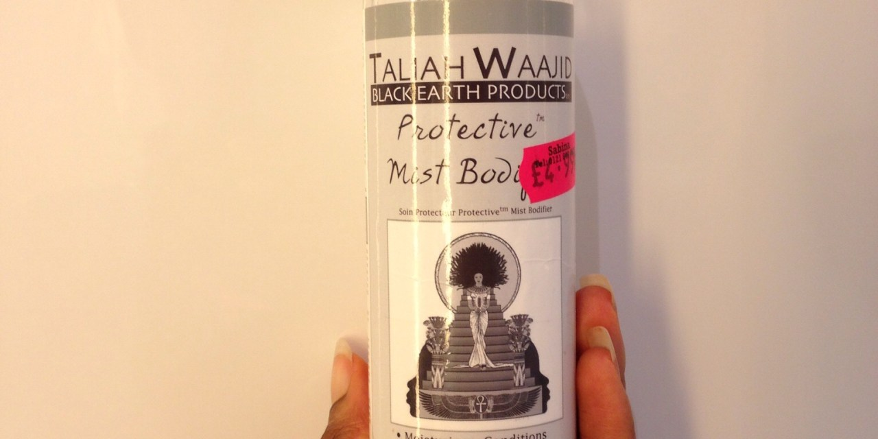 Product Review- Taliah Waajid Protective Mist Bodifier