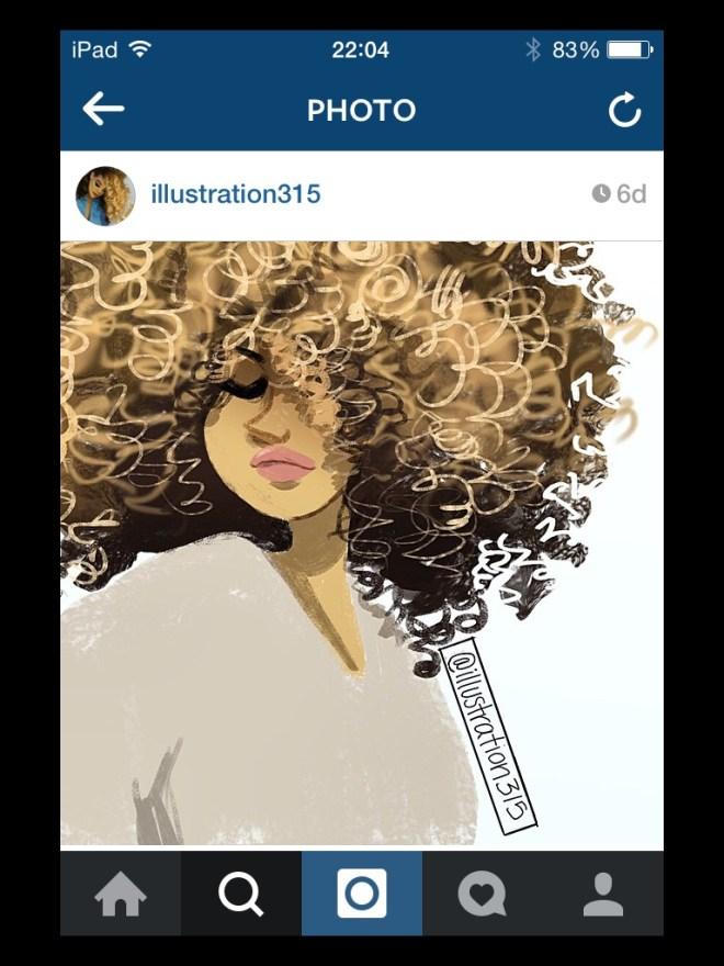 img_6295 Natural Hair in Art