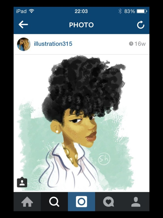 img_6302 Natural Hair in Art