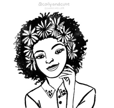 image7 Natural Hair in Art- Sharee Miller