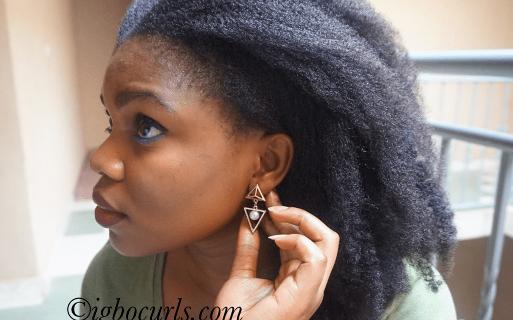 How To: 'Temporarily' Retain Stretched Natural hair