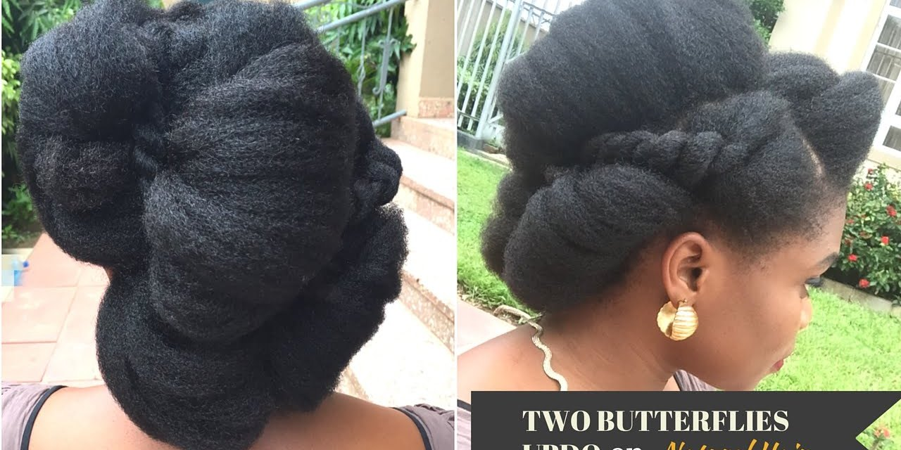 Two Butterflies Updo YouTube Video