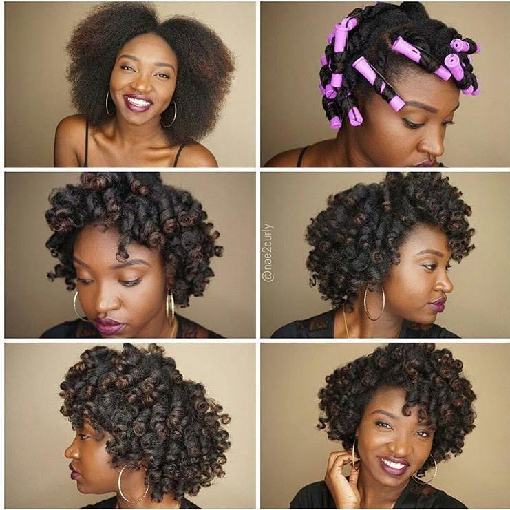 Curlformers On Medium Length Natural Hair