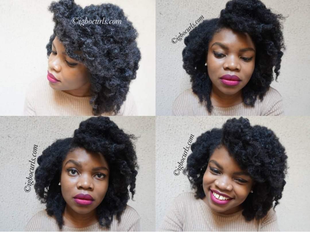 pickerimage-1 Flat Bantu Knots on Dry Natural Hair-2