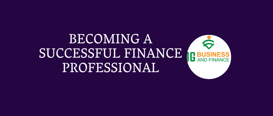 Successful Finance Professional