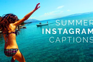 summer instagram captions