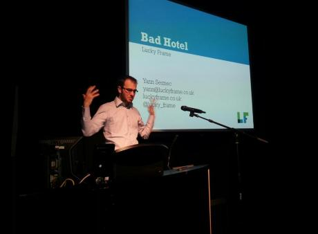 Yann Seznec presents his post-mortem on Bad Hotel