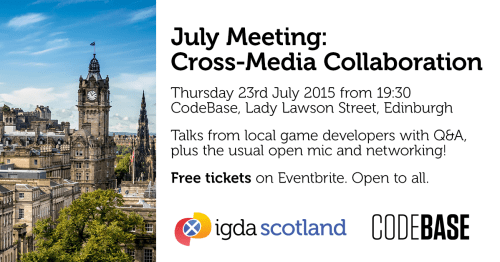 June 2015 Cross-Media Collaboration banner