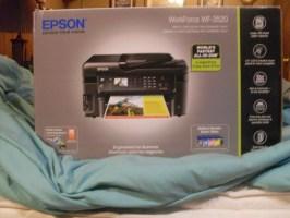 Epson WF-3520 Box