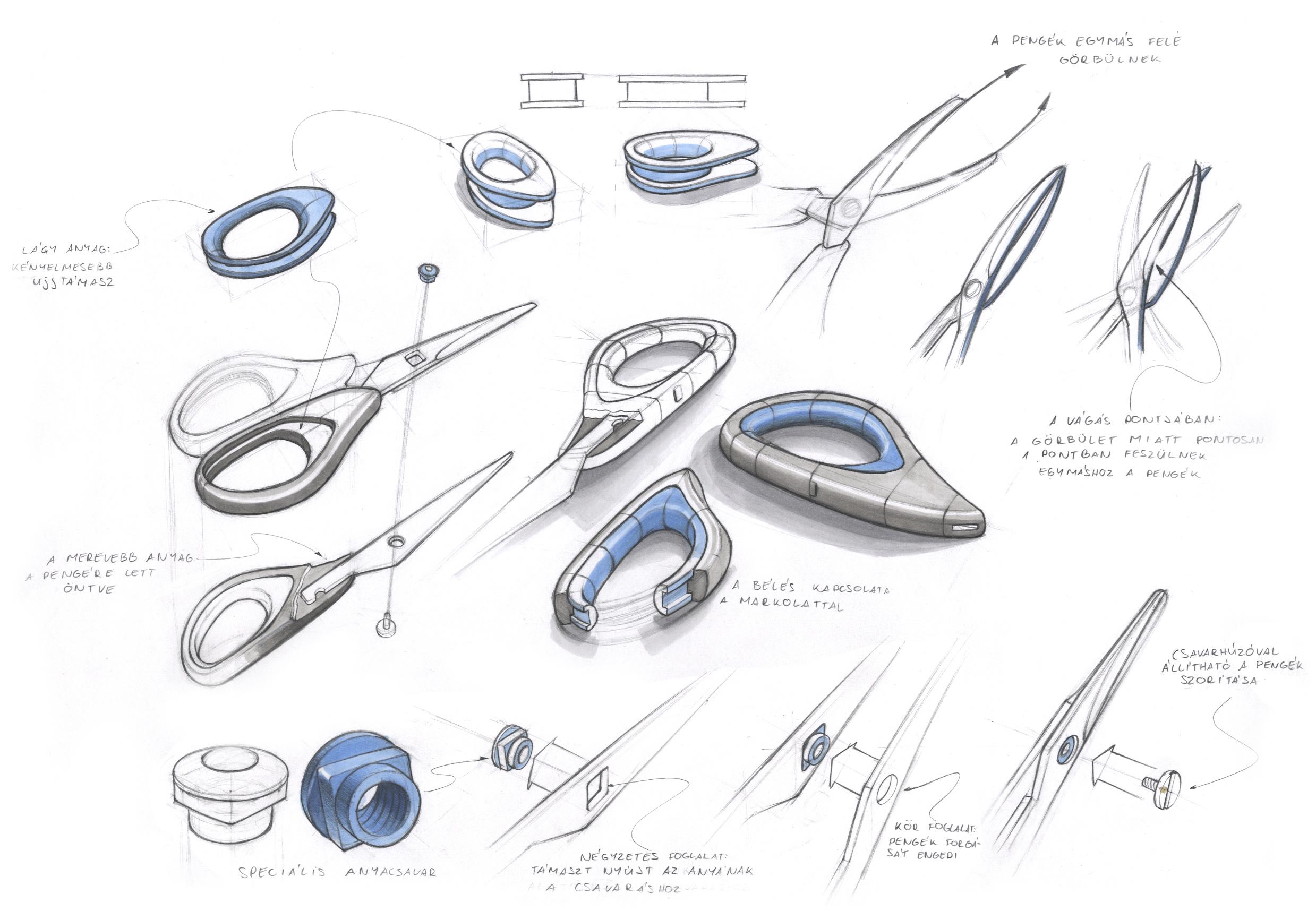 object study – paper scissors | IgenDesign