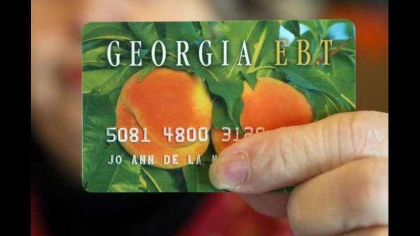 Food Stamps Balance Number GA