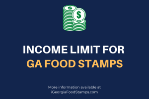 Income Limit for GA Food Stamps