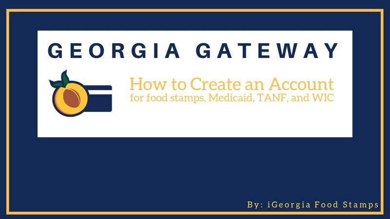 gateway.ga.gov Create an Account