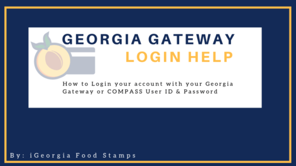 Georgia Gateway Login Help