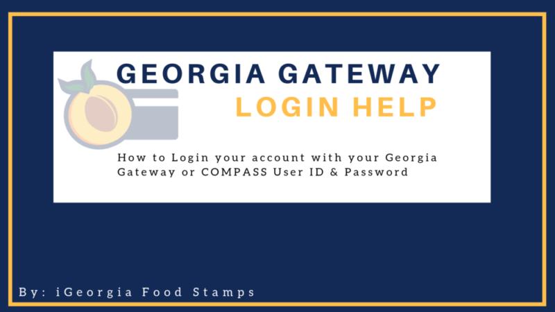 Georgia Gateway Login Help