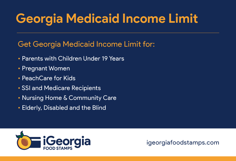 """Georgia Medicaid Income Limits"""