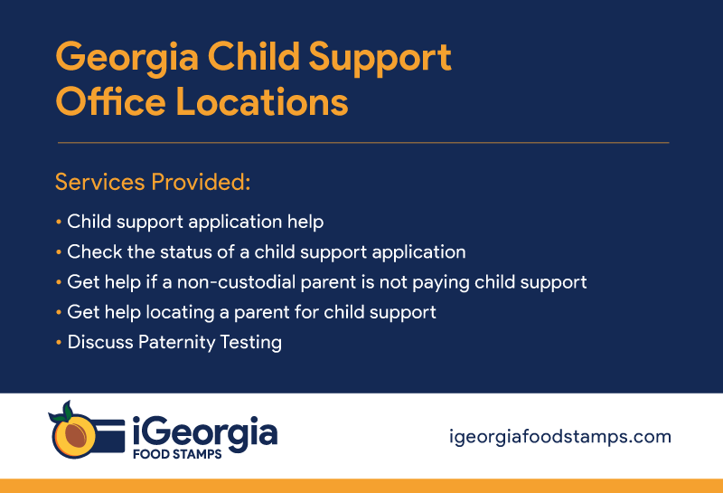 """Georgia Child Support Office"""