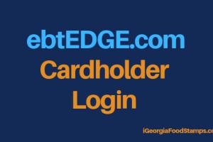 """""""ebtEDGE.com Cardholder Login"""""""