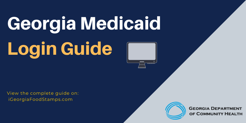 Georgia Medicaid Login Guide