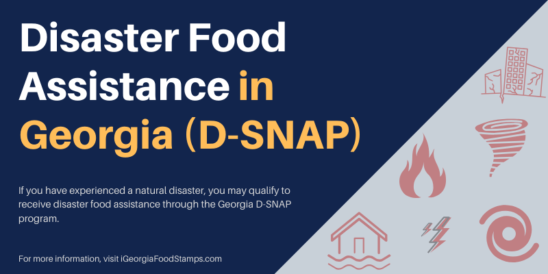 Disaster Food Assistance in Georgia (D-SNAP)