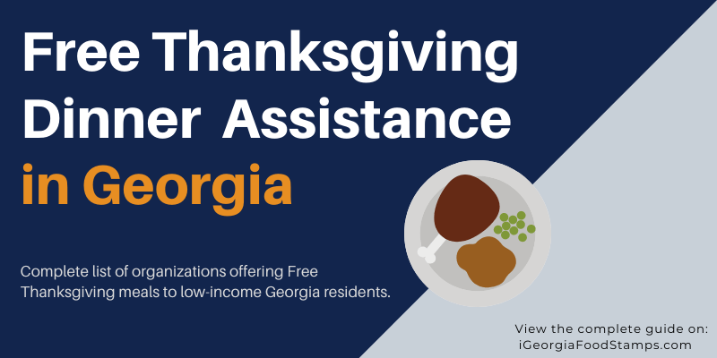 Free Thanksgiving Dinner in Georgia
