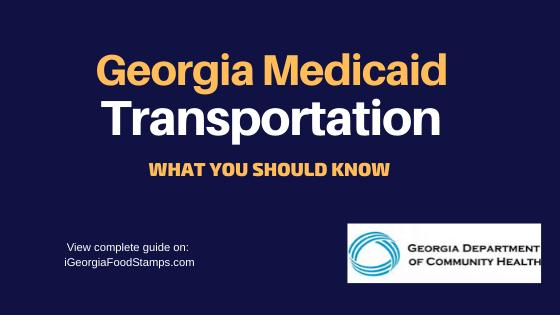 """Georgia Medicaid Transportation Program"""