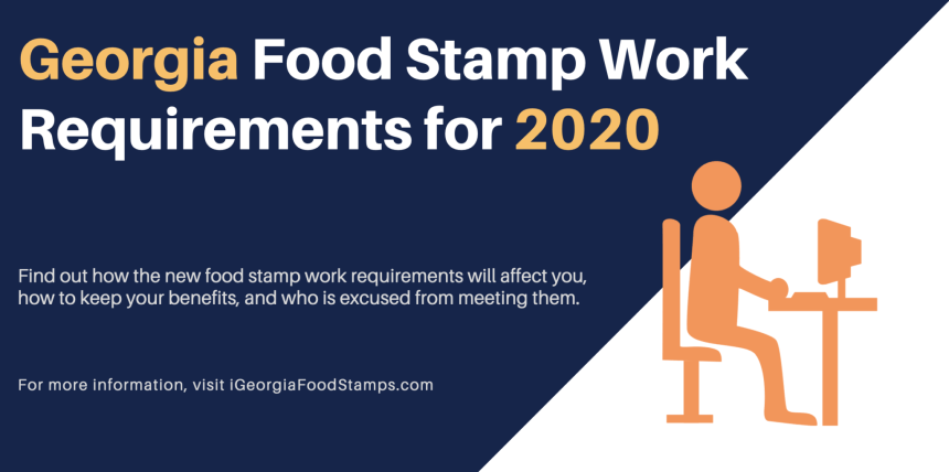 Georgia Food Stamp Work Requirements for 2020