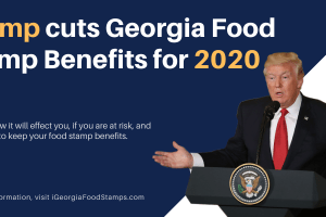 Trump cuts Georgia Food Stamp Benefits for 2020
