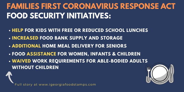 Families First Coronavirus Response Act Food Initiatives