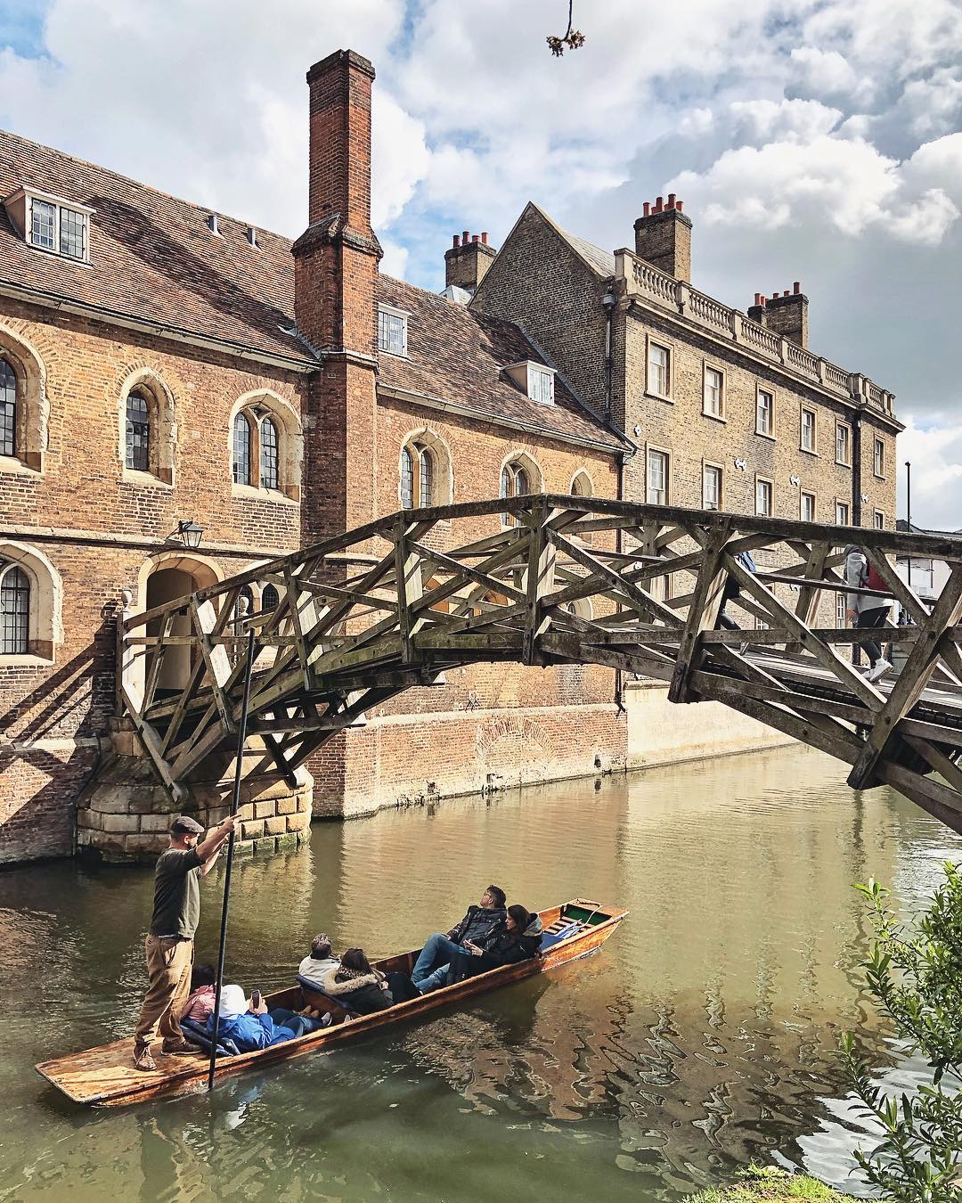 Mathematical Bridge Cambridge Queen`s College