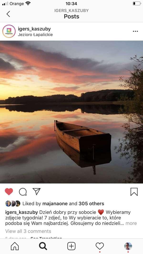jeziora natura igerskaszub -instagram spoleczność kaszuby