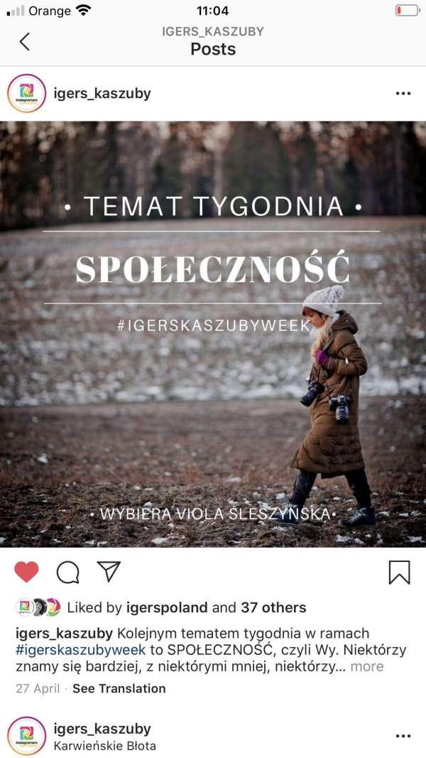 community igerskaszub -instagram spoleczność kaszuby