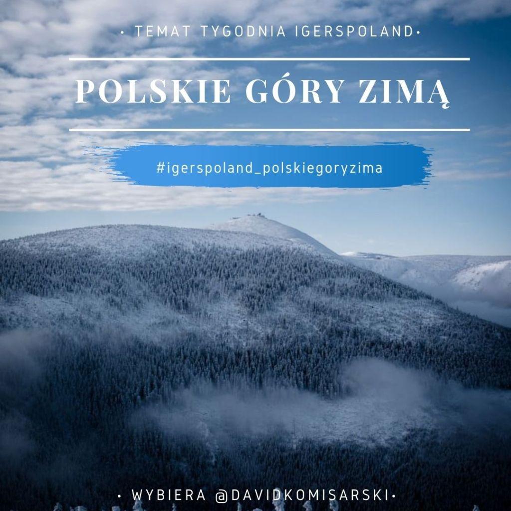 Instagram zdjęcia z gór w Polsce