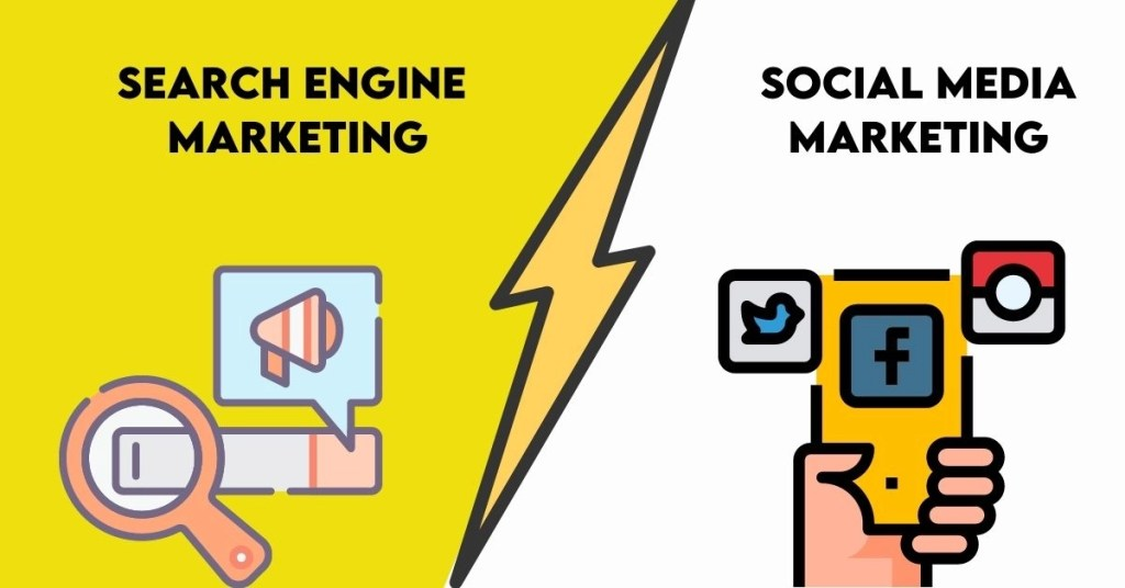 SEARCH ENGINE OPTIMIZATION VS. SOCIAL MEDIA MARKETING