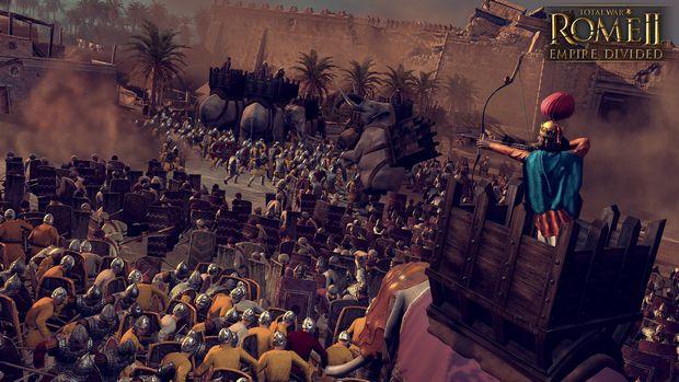 Guerre totale: Fissure divisée PC Empire Empire II