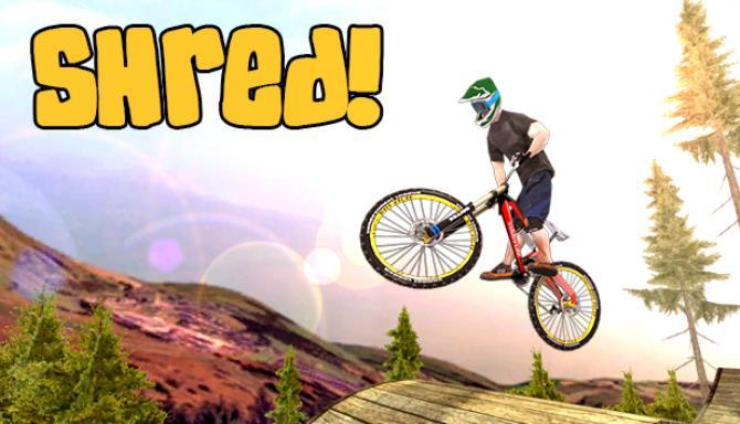 shred downhill mountain biking