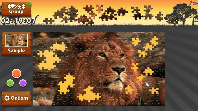 wild animals animated jigsaws