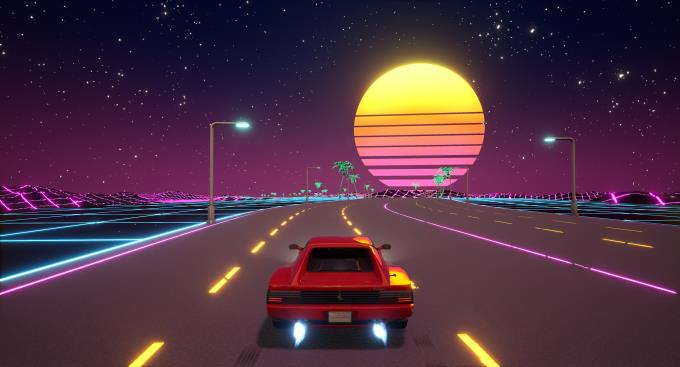 Cyber OutRun PC Crack