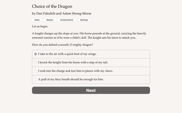 Choice of the Dragon Torrent Download