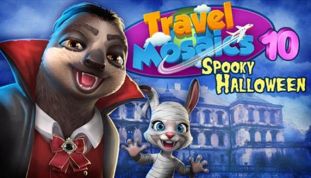Travel Mosaics 10: Spooky Halloween Free Download