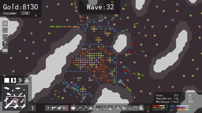 Grid Creeps PC Crack