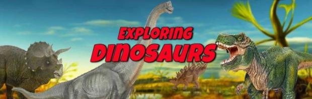 Exploring Dinosaurs Free Download