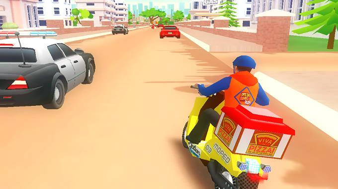 Pizza Bike Rider PC Crack
