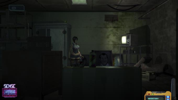 Sense - 不祥 的 预感: Bir Cyberpunk Ghost Story Torrent İndir